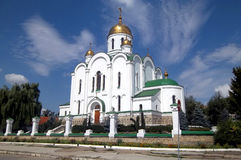 Cathedral, Tyraspol, Transnistria Stock Images