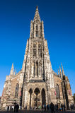 Cathedral in Ulm Stock Images