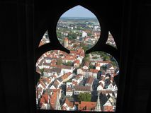 Cathedral in Ulm. stock photography