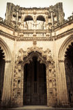 Cathedral unfinished. Detail of the unfinished Cathedral of the Monastery of Batalha in Portugal Royalty Free Stock Photos