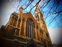 Cathedral in United Kingdom Stock Photo