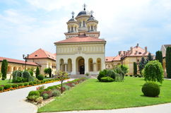Cathedral of the Unity of the People - Alba Iulia Royalty Free Stock Photography