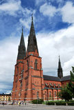 The Cathedral of Uppsala, 13 century Royalty Free Stock Image