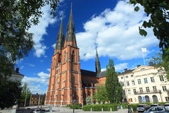 Cathedral in Uppsala Stock Images