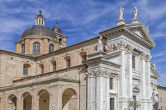 Cathedral in Urbino Stock Images