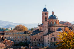 Cathedral of Urbino Stock Image
