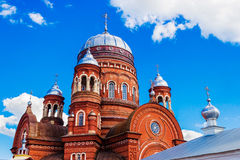 Cathedral in urzhum Royalty Free Stock Image
