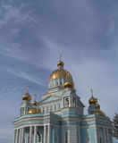 Cathedral Ushakov's in Russia Stock Images