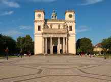 Cathedral in Vac. A small town near Budapest, Hungary Stock Images