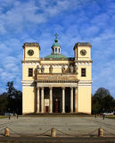 Cathedral of Vac. In Northern Hungary Stock Photos