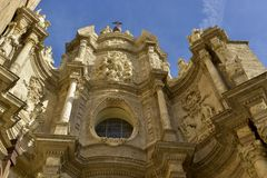 Cathedral of valencia Stock Photography