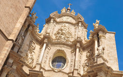 Cathedral in Valencia, Spain Royalty Free Stock Photography