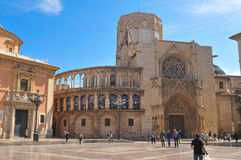 Cathedral in Valencia, Spain Royalty Free Stock Photo