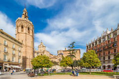 Cathedral in Valencia, Spain Stock Photo