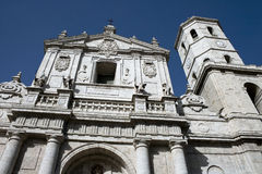 Cathedral of Valladolid Stock Photos