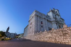 Cathedral of Valladolid Stock Photo