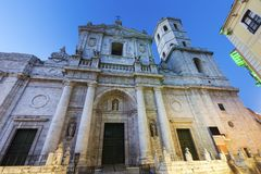 Cathedral of Valladolid Royalty Free Stock Photography