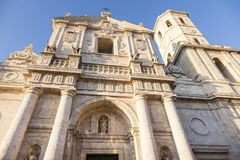 Cathedral of Valladolid Stock Photography