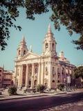 Cathedral at Valletta, Malta Stock Image