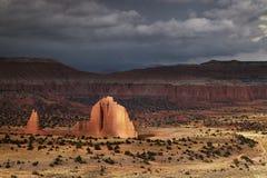 Cathedral Valley, Utah, USA Royalty Free Stock Photo