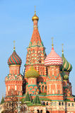 The Cathedral of Vasily Blazhenny on Red square in Moscow Royalty Free Stock Photography