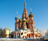Cathedral of Vasily the Blesse. D on Red Square Moscow Russia stock photography