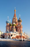 Cathedral of Vasily the Blesse. D -one of most recognizable landmark in all of Russia royalty free stock image