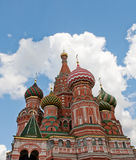 Cathedral of Vasily the Blessed Royalty Free Stock Image