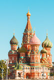 The Cathedral of Vasily the Blessed, commonly known as Saint Basil's Cathedral Stock Photography