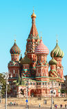 The Cathedral of Vasily the Blessed, commonly known as Saint Basil's Cathedral Royalty Free Stock Photography