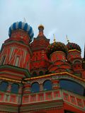 The Cathedral of Vasily the Blessed Stock Photo