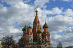 Cathedral of Vasily the Blessed Stock Photography