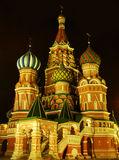 Cathedral of Vasily the Blessed, Moscow, Russia Royalty Free Stock Photo