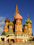 Cathedral of Vasily the Blessed, Moscow, Russia Royalty Free Stock Images