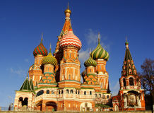 Cathedral of Vasily the Blessed, Moscow, Russia Stock Photo