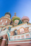 Cathedral of Vasily the Blessed Royalty Free Stock Photos