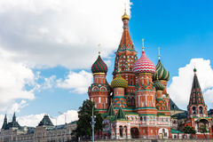 Cathedral of Vasily the Blessed Royalty Free Stock Images