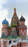Cathedral of Vasily the Blessed Stock Photos