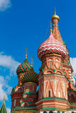 Cathedral of Vasily the Blessed Stock Image
