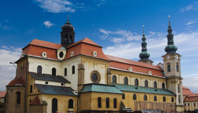 Cathedral - Velehrad Czech Republic Royalty Free Stock Photo