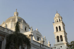 Cathedral of Veracruz Royalty Free Stock Photos