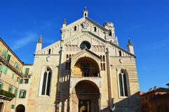 Cathedral in Verona, Italy Stock Photo