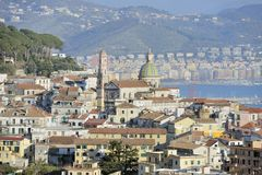 Cathedral of Vietri sul Mare Stock Images