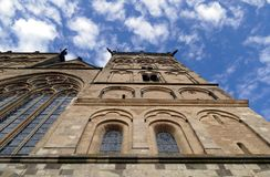 Cathedral view from below Royalty Free Stock Photos
