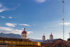 Cathedral view from granada, Nicaragua Stock Photo