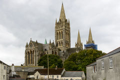 Cathedral view, Truro Royalty Free Stock Images