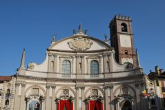 Cathedral, Vigevano Royalty Free Stock Images