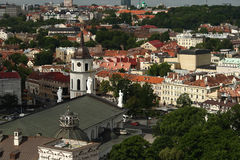 Cathedral of Vilnius. Stock Photos