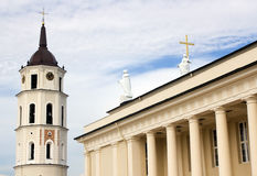 Cathedral of Vilnius, Lithuania Stock Photography