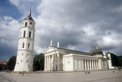 Cathedral, Vilnius, Lithuania Royalty Free Stock Photos